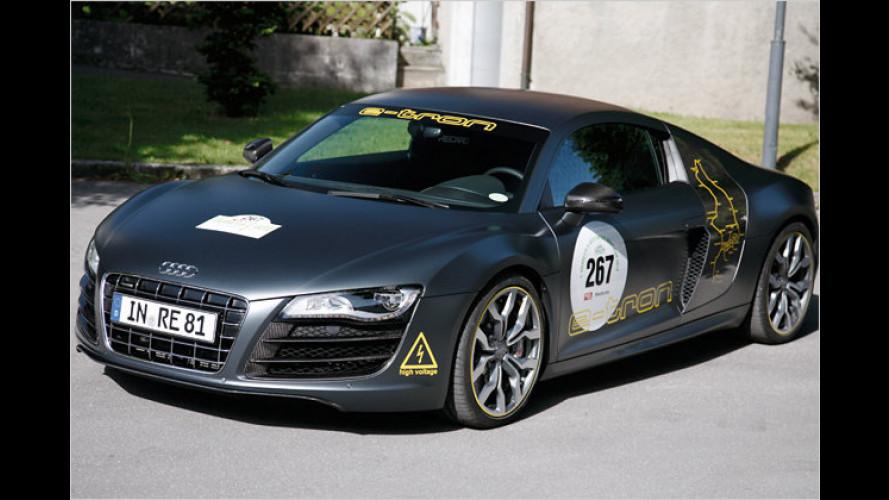 E-Auto-Rallye im Silvretta: Elektro-Autos in der Hitzeschlacht