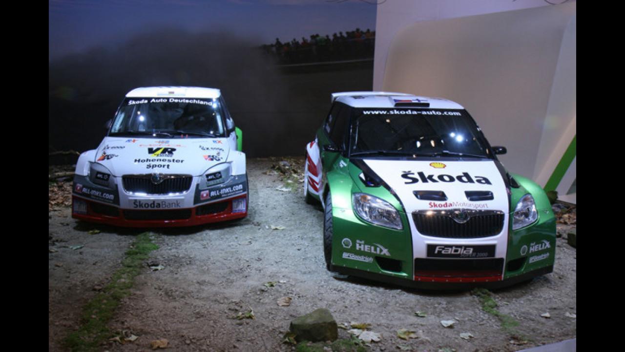 Skoda Fabia S2000 und S1600