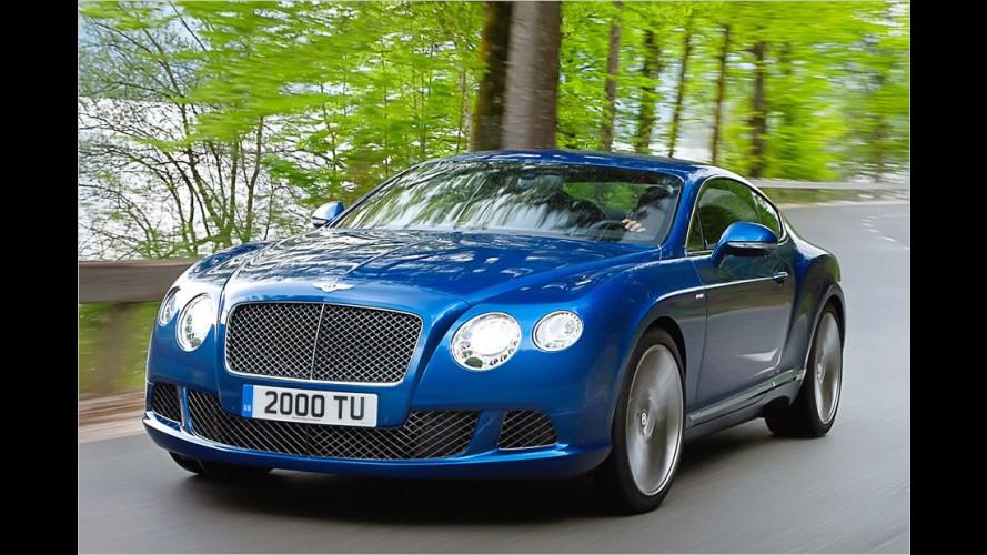 Schnellster Serien-Bentley