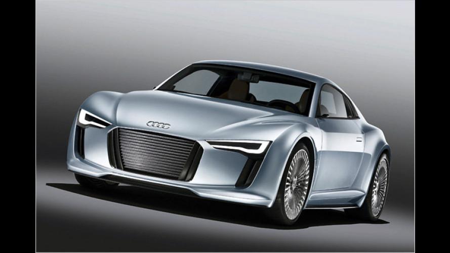 Detroit-Showcar Audi e-tron: Neue Variante des E-Boliden