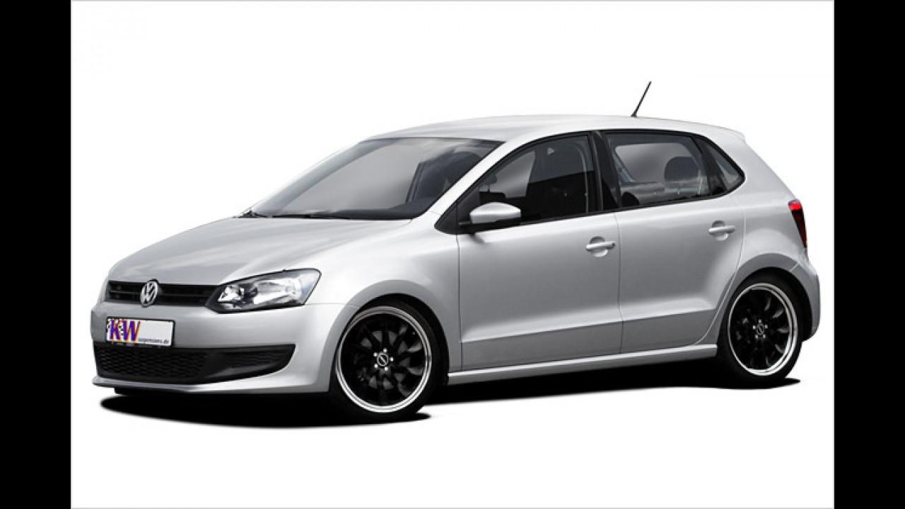 Tiefer gelegter VW Polo