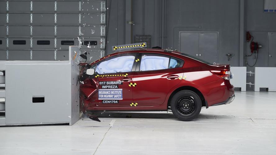 2017 Subaru Impreza retains Top Safety Pick+ crown in IIHS testing