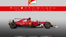 2017 Ferrari SF70H F1 car