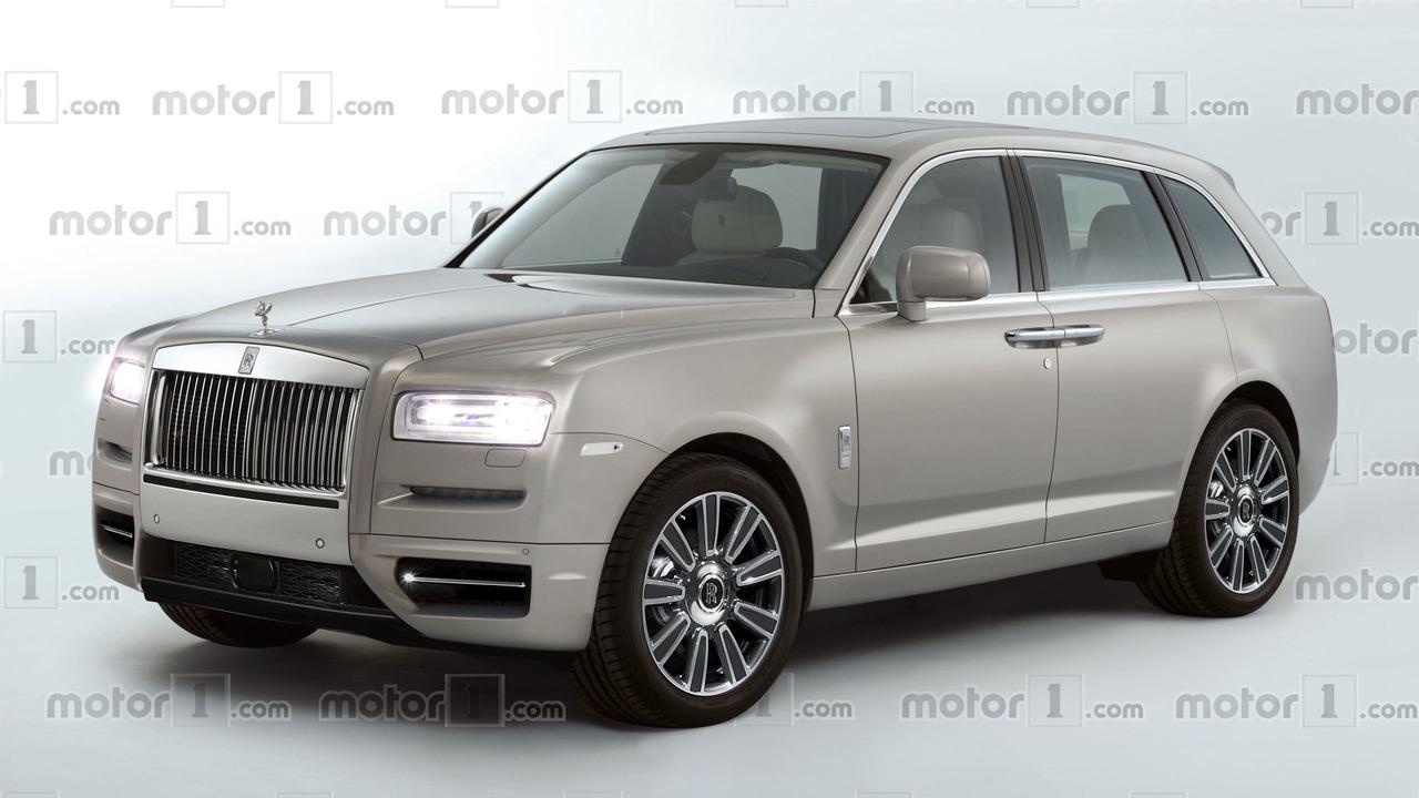 Rolls-Royce Cullinan 2018 render