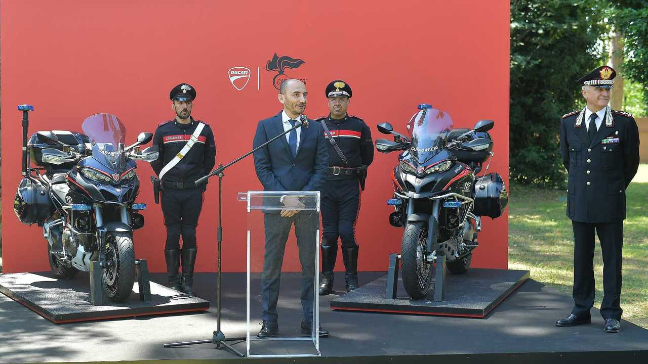 Ducati Multistrada 1200 Carabinieri