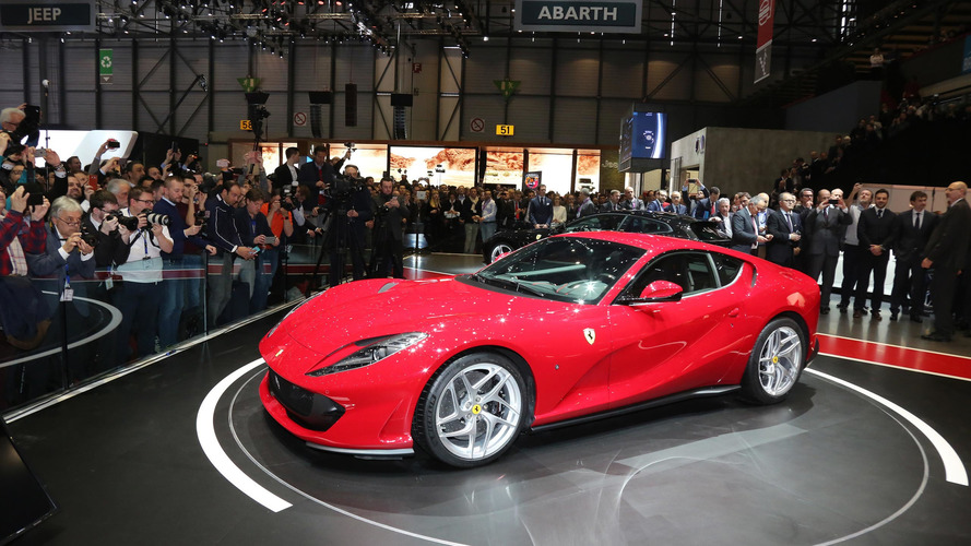 Check out the 789-hp Ferrari 812 Superfast's unveiling in Geneva