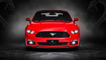 Vilner has clad a Ford Mustang in mustang leather