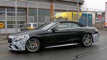 Mercedes-AMG S63 Cabrio spy photo