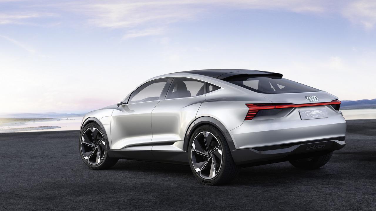 Audi E-Tron Sportback concept photo
