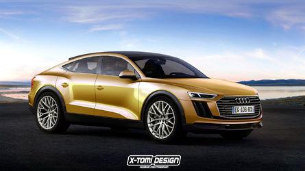 Audi Q9 Концепция Неужели Кроссовер Coupe Никто Задаваемые Для