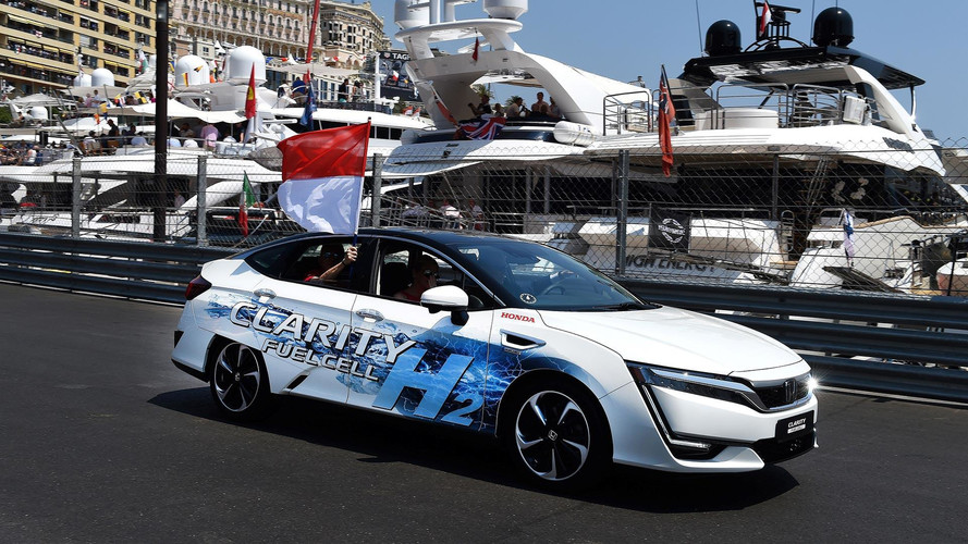 Prince Albert Of Monaco Takes Honda Clarity Fuel Cell For A Spin
