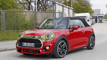 Mini Convertible facelift spy photo