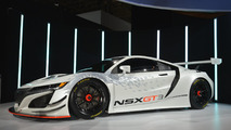 Acura NSX GT3 at New York Auto Show 2016