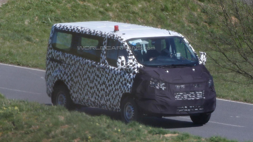 2016 Ford Tourneo Custom facelift spied