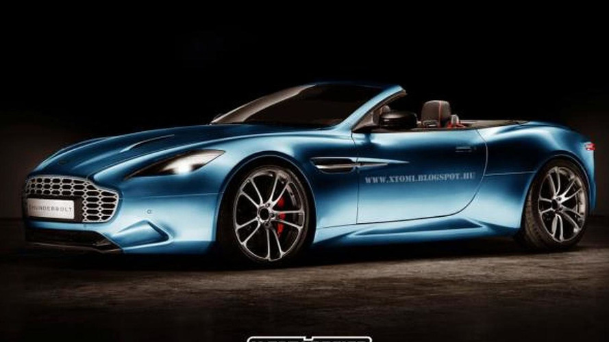 Aston Martin Thunderbolt Volante digitally imagined