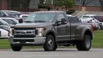 Ford F350 XLT Single Cab Dually spy photos
