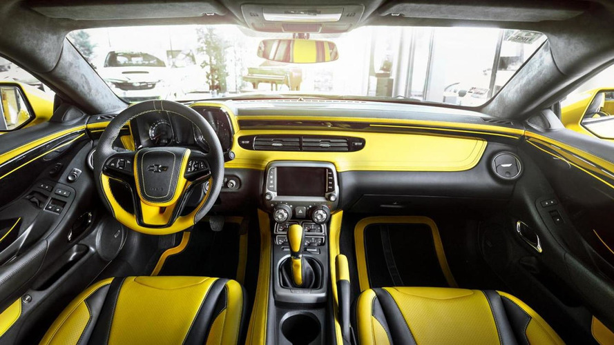 Chevrolet Camaro ZL1 receives a matching interior from Carlex Design