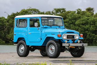 This Spotless Toyota Land Cruiser FJ40 is 4x4 Royalty
