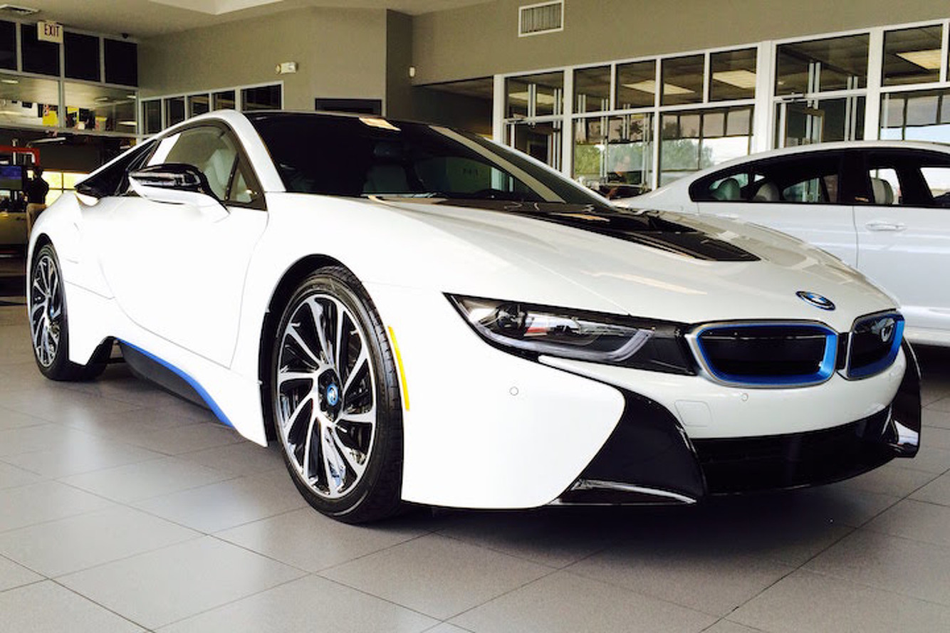 Guess Which Rapper Gifted His BFF a BMW i8 for Christmas