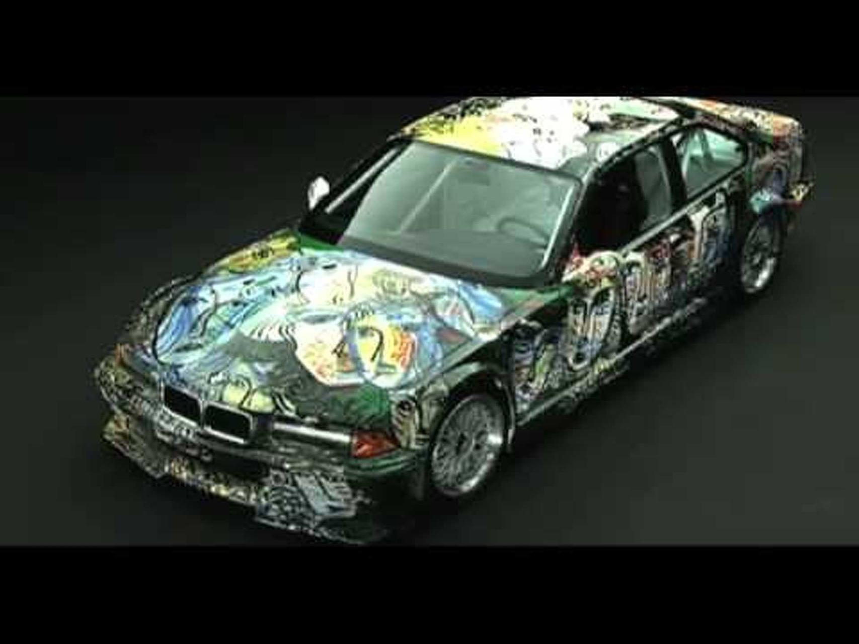 BMW M3 2nd Generation Art Car