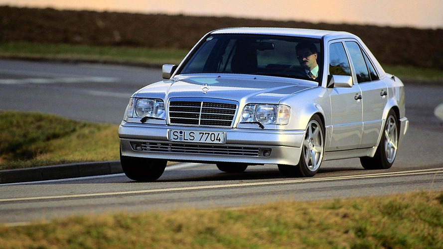Mercedes celebrates the 25th anniversary of the 500 E