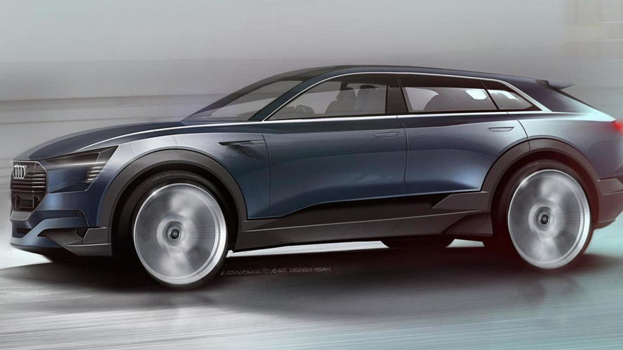 Audi e-tron quattro concept teased ahead of IAA debut, previews electric Q6