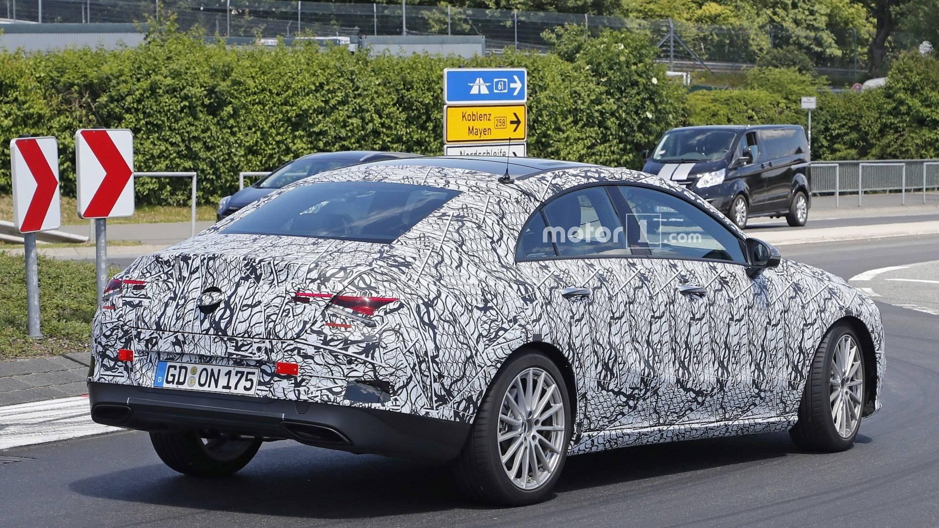 2019 - [Mercedes-Benz] CLA II - Page 2 2020-mercedes-cla-spy-photo