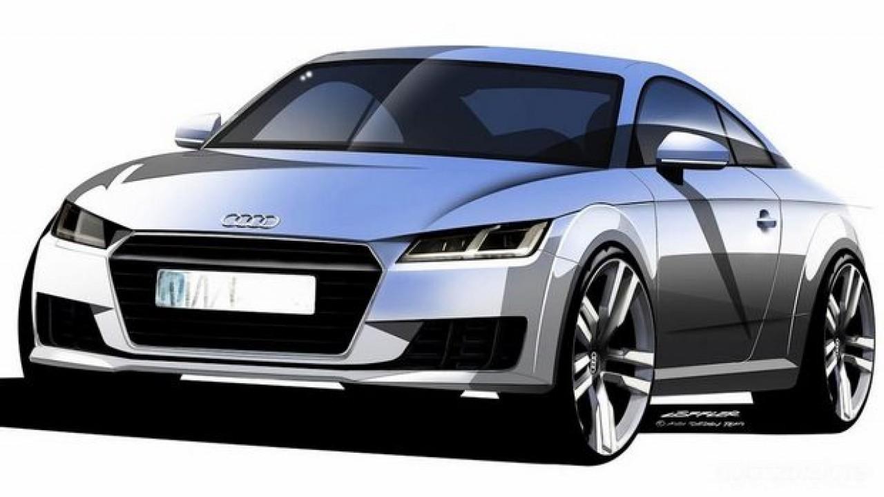 Novo Audi TT 2015 tem primeira foto oficial divulgada
