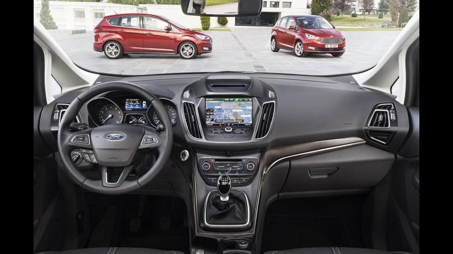 Salão de Paris: derivada do Focus, Ford C-Max ganha cara nova