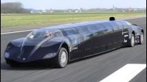 Astronauta ajuda a desenvolver ônibus elétrico que chega a 250 km/h