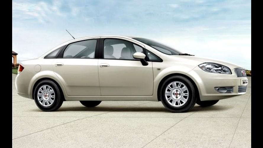 Fiat lança versão popular do Linea pelo equivalente a R$ 21.500 na Índia
