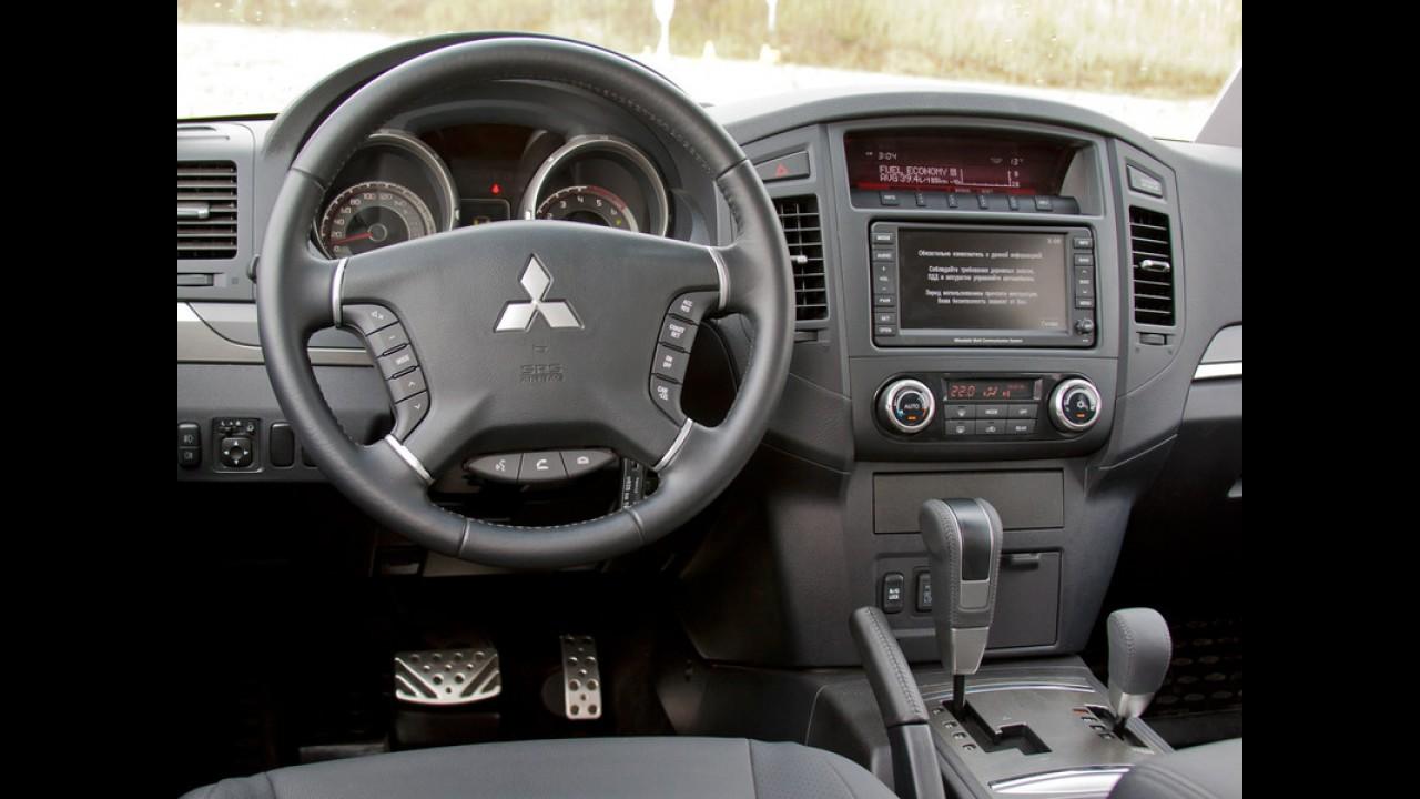 Mitsubishi adia nova geração do Pajero Full para 2015