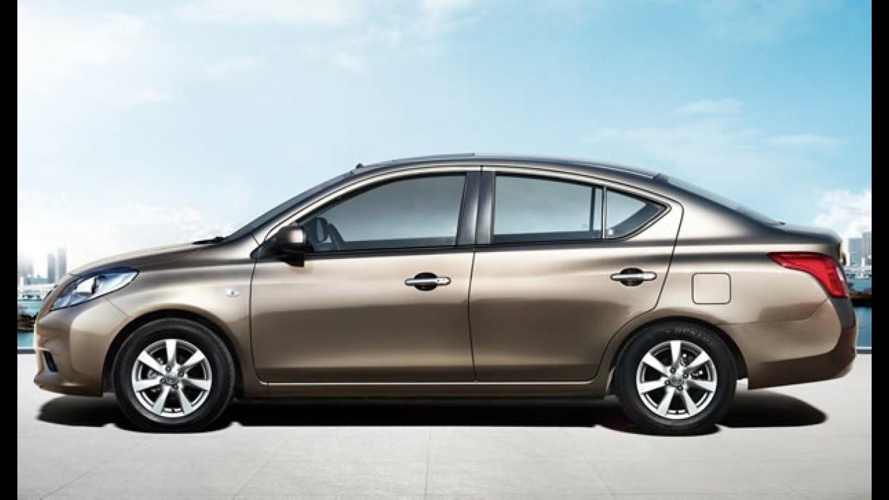 Novo sedan Nissan Sunny é apresentado na China