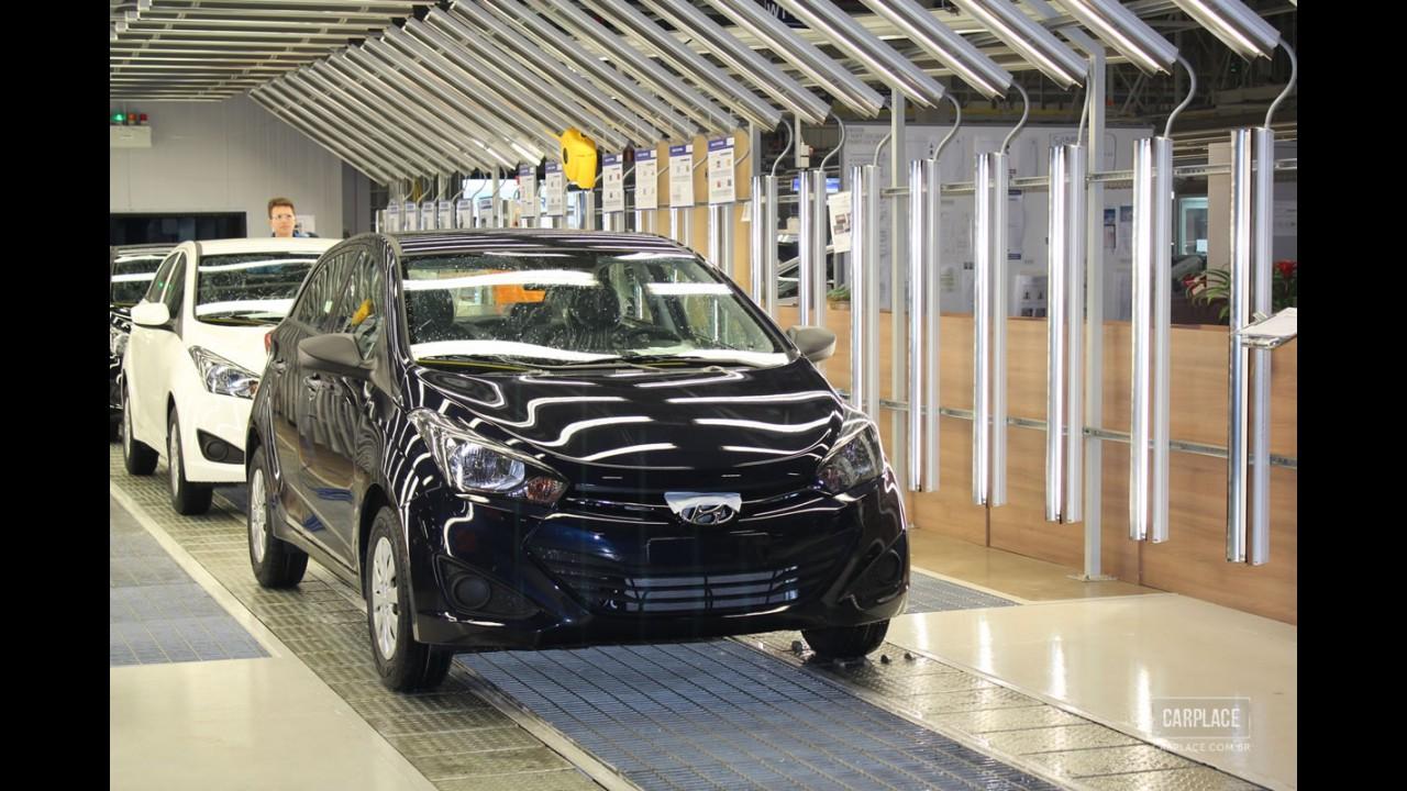 Funcionários aceitam proposta da Hyundai e greve na fábrica do HB20 chega ao fim