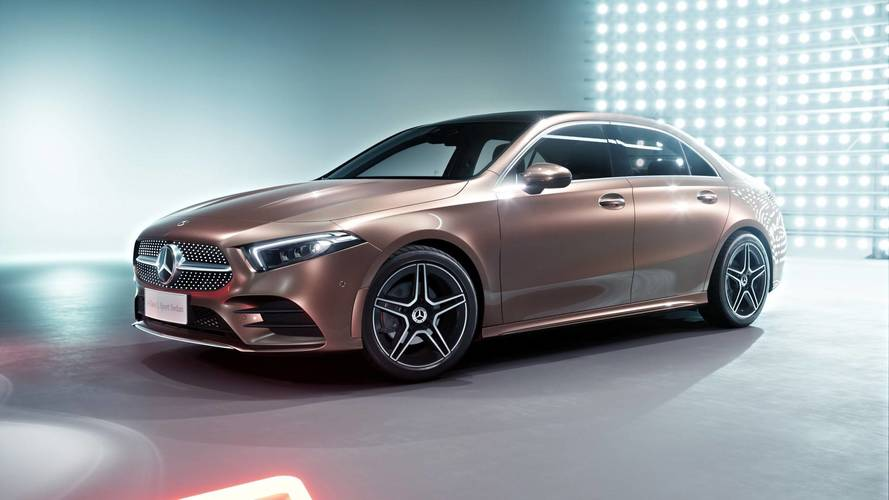 Mercedes A-Class Sedan Long Wheelbase: First Official Look