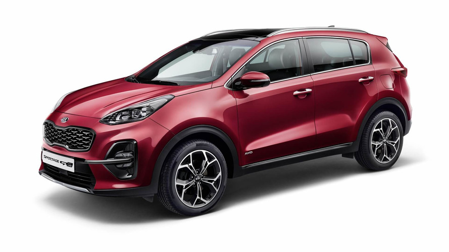 2019 Kia Sportage Facelift Unveiled With Mild Hybrid Diesel Engine