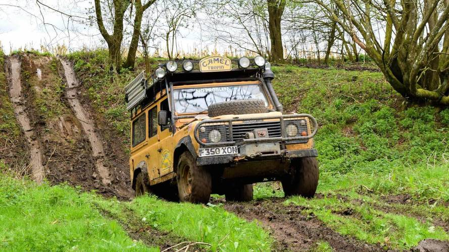 Driving The 1989 Camel Trophy-Winning Land Rover