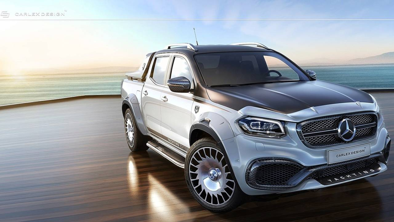 2018 Mercedes Pick Up Truck >> Mercedes X-Class By Carlex Design Is The Maybach Of Pickup Trucks
