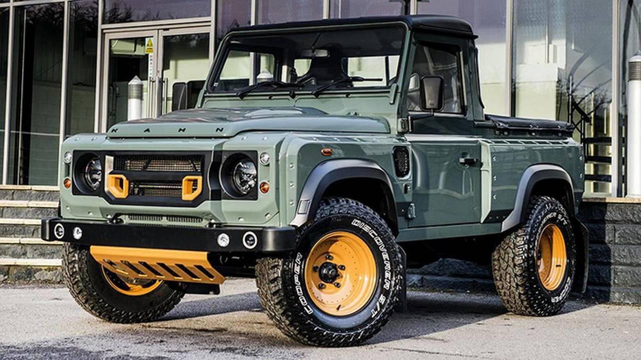 Land Rover Defender Pickup by Kahn Design
