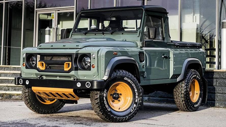 El Land Rover Defender 2019 podría contar con una versión pick-up