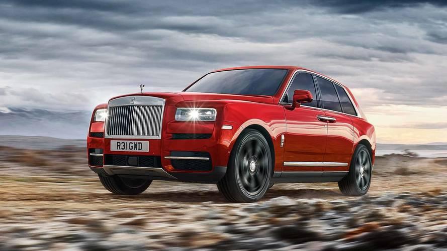 Tekintélyes és dögnehéz kocka lett a Rolls-Royce Cullinan