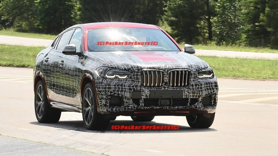 2020 BMW X6 casus fotoğraflar