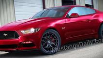 2015 Ford Mustang rendering 24.9.2013