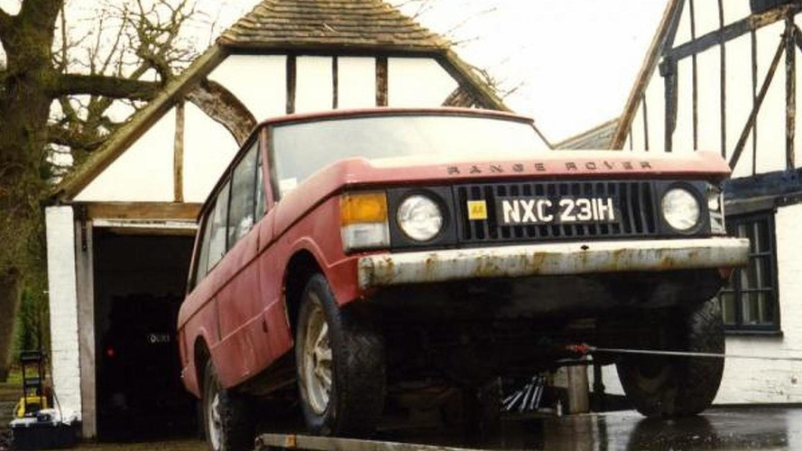First ever production Range Rover will be restored and sold