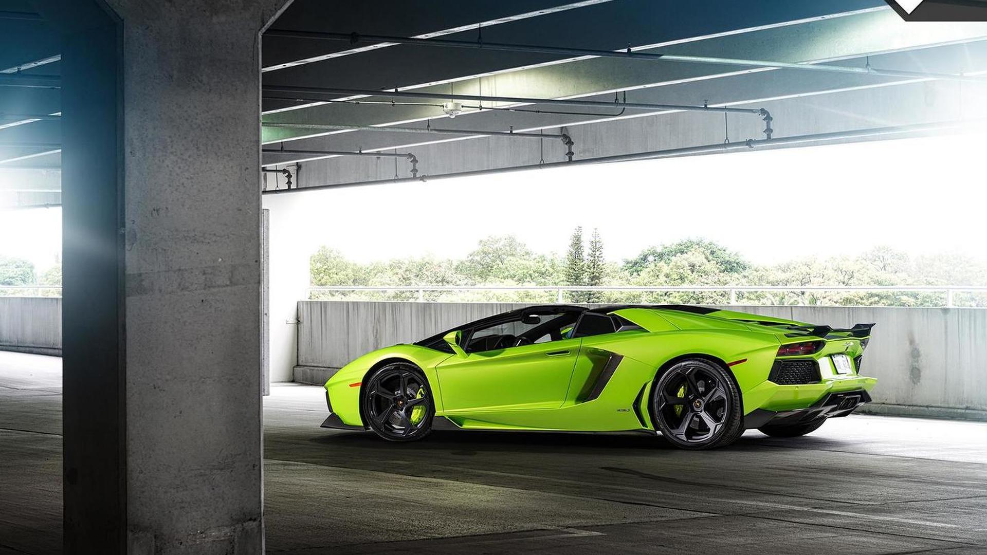 Тюнинг Lamborghini Aventador-V Roadster The Hulk от Vosteiner