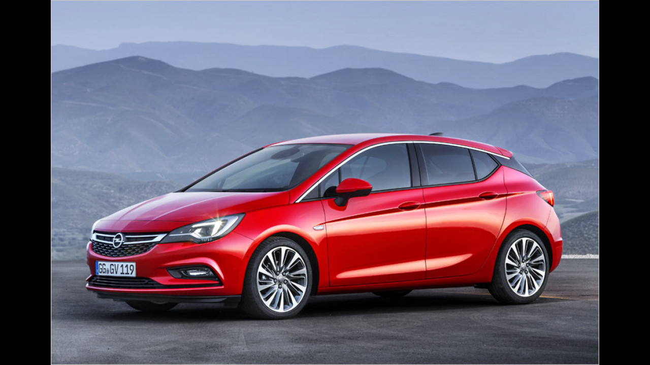 Opel Astra (2015)