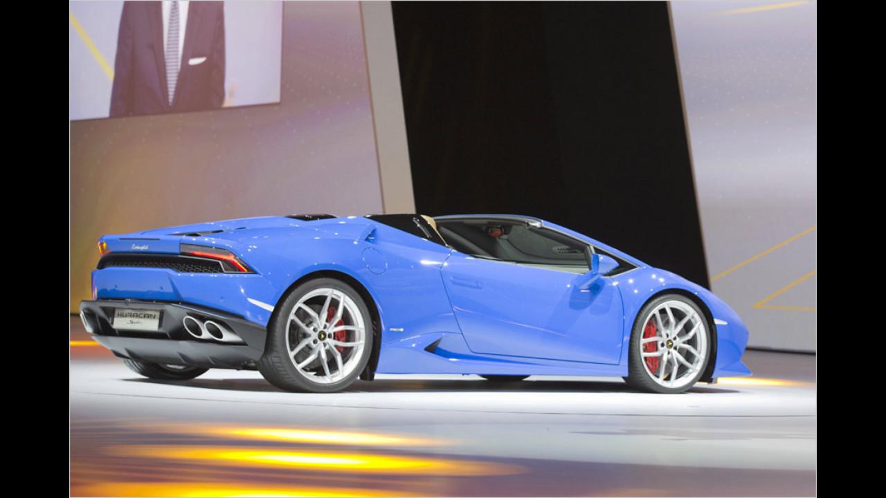 Lamborghini Huracán LP610-4 Spider