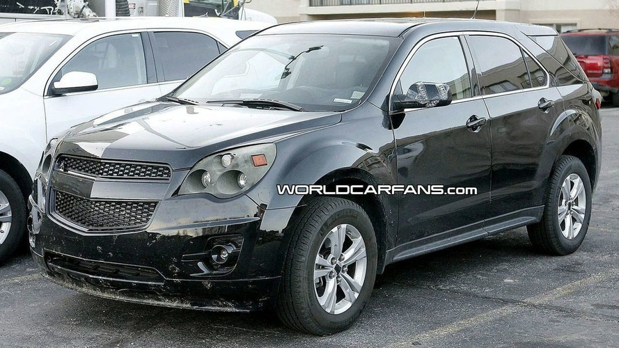 2010 Chevrolet Equinox Sheds Last Pieces of Camouflage for Spies