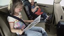 Mercedes child seat: TOPSAFE & KID booster