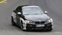 2015 BMW M2 spy photo